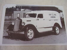 1936 DODGE  PANEL TRUCK KRAFT CHEESE    11 X 17  PHOTO  PICTURE