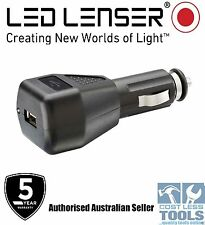 Led Lenser USB Car Charger 12/24v - ZL0380