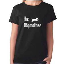 Ladies Dogmother TShirt - Dachshund T Shirt - Sausage Dog Clothing Gift