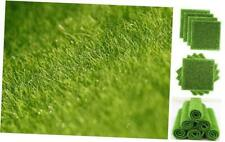 New listing Mini Artificial Grass Fairy Garden Grass Artificial Moss Terrarium 6 x 6 Inches