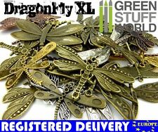 Set 85gr. - Big DRAGONFLY Beads Mix - Jewelery Making - Charms & Pendant