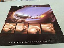 1999 HOLDEN STATESMAN Accessories Sales Brochure