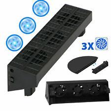 Para PS4 Slim Stand Ventilador refrigeración vertical Disipador térmico externo
