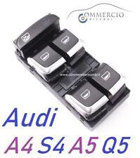 Pulsantiera Alzacristalli Audi A4 S4 A5 S5 Q5 2007> NUOVA Interruttore alzavetro