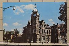 Old Post Office & Town Clock Arnprior Ontario vintage POSTCARD PC268