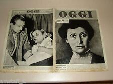 OGGI 1949/50=GIUSEPPA GRIGGI=JEAN WALLACE=LUCIANO ZUCCOLI=INGHILTERRA ITALIA=