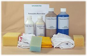 Car Leather Restore Kit, Pigment Paint for Hatch/Saloon, Leather colour restorer