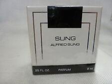 Sung by Alfred Sung .25 fl oz  / 8 ml PARFUM Splash / not Spray in a sealed box