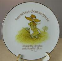 """Lasting Memories Mini Plate Happy Birthday to Someone Special Porcelain Japan 6"""""""