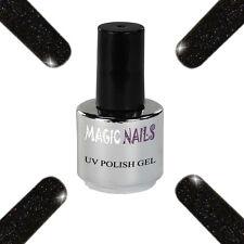 UV Polish Soak Off Gel Nail Art Nagellack Farbe # Onyx