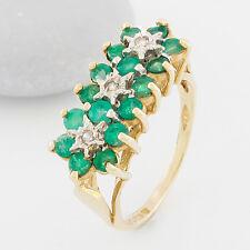 Uhren & Schmuck Hochzeitsschmuck 1.52 Karat 14k Kolumbianisch Smaragd Solitaire Rosegold Verlobungsring