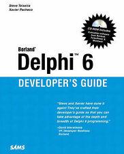 Borland Delphi 6 Developer's Guide (Sams Developer's Guides), Acceptable, Pachec