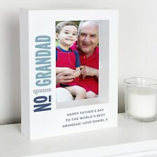 Personalised Grandad Box Photo Frame 7 x 5 Dad Fathers Day Gift Birthday
