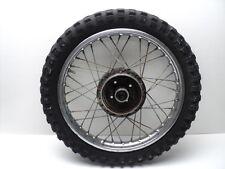 #4096 Yamaha MX100 MX 100 Chrome Rear Wheel & Tire