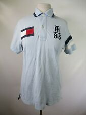 F3514 Men's Tommy Hilfiger Logo Short Sleeve Rugby Shirt Size XS