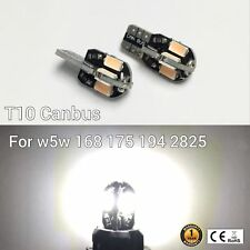 T10 W5W 194 168 2825 175 License Plate Light WHITE 8 Canbus LED M1 For BMW R
