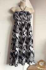 Women's Pep & Co Strapless Sun Dress Size L BNWOT