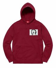 Supreme Akira アキラ Patches Hooded Sweatshirt Cardinal Size Large FW17 Hoodie Mens