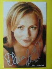 -aa- Dana Golombek, Autogrammkarte