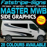 RENAULT MASTER MWB L2 GRAPHICS STICKERS STRIPES DECALS DAY VAN CAMPER CONVERSION