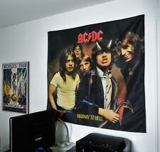 AC/DC Highway to Hell HUGE 4X4 BANNER poster tapestry cd album wall decor