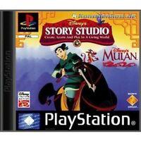 PS1 / Sony Playstation 1 Spiel - Disney's Interaktive Abenteuer, Mulan mit OVP
