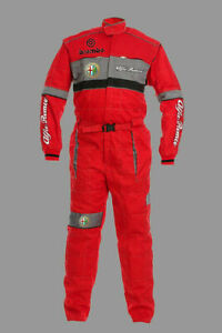 New Embroidered Alfa Romeo Overall, Sport Workwear Overall, Work Wear