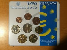 Griekenland  BUset  2002       1 ct t/m 2 euro  KNM uitgave