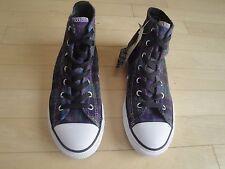 Converse Chuck Taylor All Star Hi  Allium Purple Plaid Shoes Size: 3 Youth