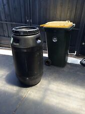 250lt plastic drum/water tank/stock feed/compost bin/wine barrel, etc