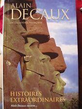 Livre - Histoires Extraordinaires - Alain Decaux