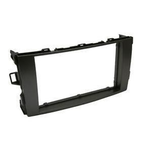 Toyota Auris Facia Fascia Surround Trim Panel Adapter Double Din Plate Frame