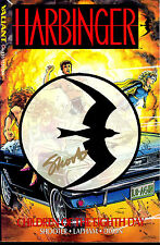 Harbinger Children of Eighth Day TPB signed Jim Shooter VALIANT 1992 1st Print