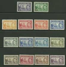 1938-44  Set to 10/-, Sg 131-140, Mounted Mint. {Imp- 347}