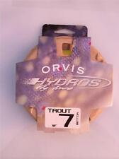 New Orvis Hydros Trout Fly Line WF 7 Yellow