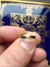 585 er  Gelbgold Ring  mit 1 Brillant  0,10 ct. von Christ! TOP Zustand