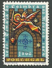 Portugal Scott# 947, Coimbra Gate, Angel with Censer and Sword, Used, 1965