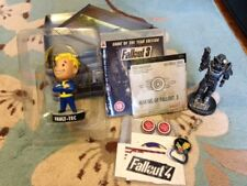 FALLOUT 3 COLLECTION LUNCHBOX BOBBLEHEAD BROTHERHOOD OF STEEL + MORE