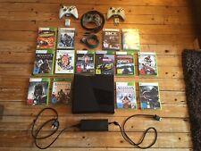 Xbox 360 S Mit 3 Controllern Und 14 Spielen