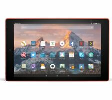 AMAZON Fire HD 10 Tablet with Alexa (2017) - 32 GB, Red - Currys