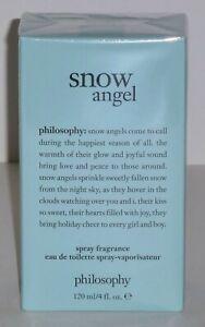 Philosophy Snow Angel eau de toilette Spray Fragrance 4 fl oz Brand New Sealed