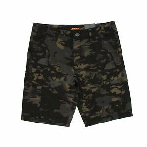 Santa Cruz Defeat Walk Shorts - Black Camo