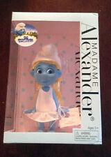 "2012 Spring Edition Madame Alexander 8"" Smurfs Smurfette Doll NOS Collectible"