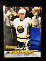 VICTOR OLOFSSON - 2019 19-20 UPPER DECK SERIES 1 YOUNG GUNS UD CANVAS ROOKIE