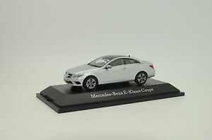 RARE ! Mercedes E-Klasse Coupe Iridium Silver Kyosho 1/43