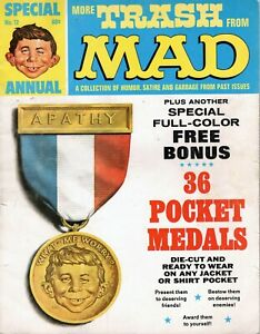 MORE TRASH FROM MAD SPECIAL #12-1969-medals-Angelo Torres