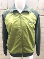 Adidas Jacket Size M Green Men's Casual Retro TRACK TOP