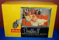 VINTAGE KODAK DUAFLEX IV DELUXE FLASH OUTFIT KIT WITH ORIGINAL BOX ~109~
