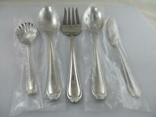 5 Serving Pieces BUTTERFLY MEADOW Lenox 18/8 Stainless Steel Glossy Flatware