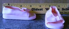 BATTAT SOFT PINK SANDELS FIT AMERICAN GIRL DOLL 3""